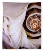 Seashell Detail Fleece Blanket
