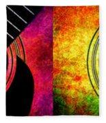 4 Seasons Guitars Panorama Fleece Blanket