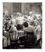 Silent Still: College Fleece Blanket