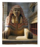 Sphinx Fleece Blanket