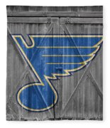 St Louis Blues Fleece Blanket