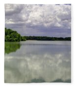 4-summer Time At Moraine View State Park Fleece Blanket