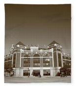 Texas Rangers Ballpark In Arlington Fleece Blanket