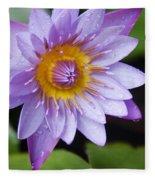 The Lotus Flower Fleece Blanket