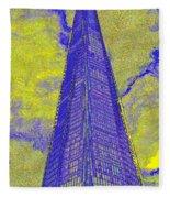 The Shard London Art Fleece Blanket