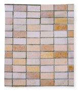 Tiles Background Fleece Blanket