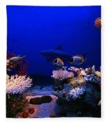 Underwater Scene Fleece Blanket