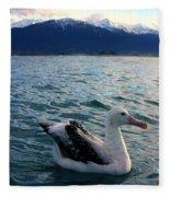 Wandering Albatross Fleece Blanket