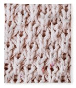 White Wool Fleece Blanket