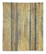 Wooden Background Fleece Blanket