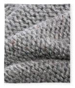 Wool Background Fleece Blanket