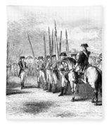 Yorktown: Surrender, 1781 Fleece Blanket