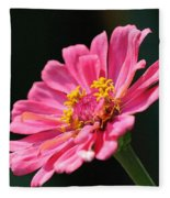 Zinnia From The Whirlygig Mix Fleece Blanket
