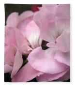 Zonal Geranium Named Tango Light Orchid Fleece Blanket