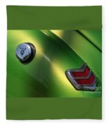 40 Ford - Tank N Tail Light-8527 Fleece Blanket