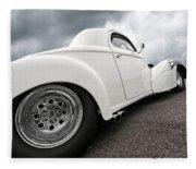 41 Willys Coupe Fleece Blanket