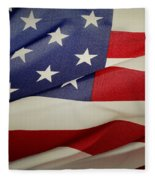 American Flag Fleece Blanket