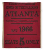 Atlanta Falcons Fleece Blanket