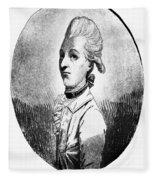 Marquis De Lafayette Fleece Blanket
