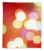 Abstract Background Fleece Blanket