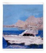 Storm Chasing On The High Seas Fleece Blanket