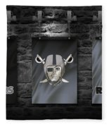 Oakland Raiders Fleece Blanket