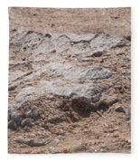 White Desert Fleece Blanket