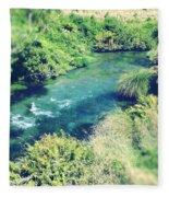 Spring Water Fleece Blanket