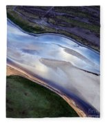 Aerial Photo Fleece Blanket