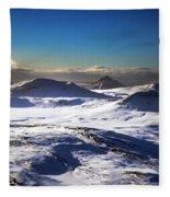 Aerial Photo Fleece Blanket