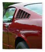 Classic Mustang Fleece Blanket