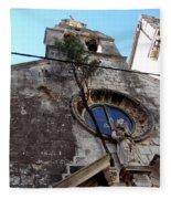 Views Of Dubrovnik Croatia Fleece Blanket