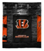 Cincinnati Bengals Fleece Blanket