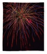4th July #12 Fleece Blanket