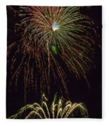4th July #2 Fleece Blanket