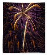 4th July #9 Fleece Blanket