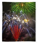 4th Of July Through The Lens Baby Fleece Blanket