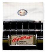 1959 Chevy Corvette Fleece Blanket