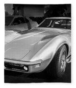 1969 Chevrolet Corvette 427 Bw Fleece Blanket