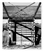 Abandoned Sugarmill Fleece Blanket