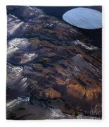 Aerial Photography Fleece Blanket