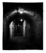 Alley Of Melancholy. Iseo Fleece Blanket