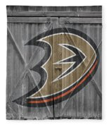 Anaheim Ducks Fleece Blanket