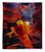 Antelope Canyon - Arizona Fleece Blanket