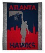 Atlanta Hawks Fleece Blanket