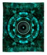 Audio Kaleidoscope  Fleece Blanket