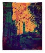 Big Ben Street Fleece Blanket