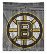 Boston Bruins Fleece Blanket