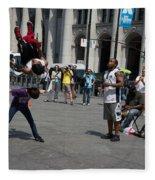 Breakdancers Fleece Blanket