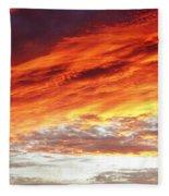 Bright Sky Fleece Blanket